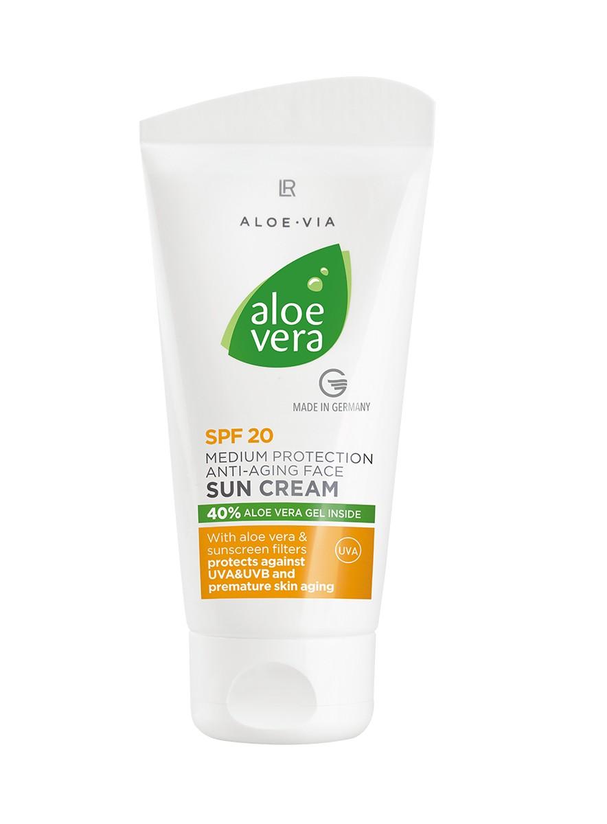 Aloe Vera Anti-Aging Solcreme faktor 20