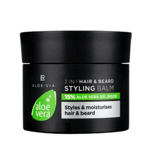 Aloe Vera Mens Essentials 2in1 hår og skæg styling Balm