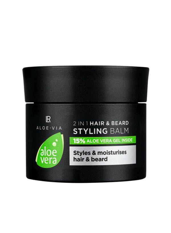 Aloe Vera Mens Essentials 2in1 hår og skæg styling Balm
