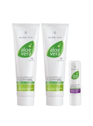 Aloe Vera Mund- og Tandplejesæt
