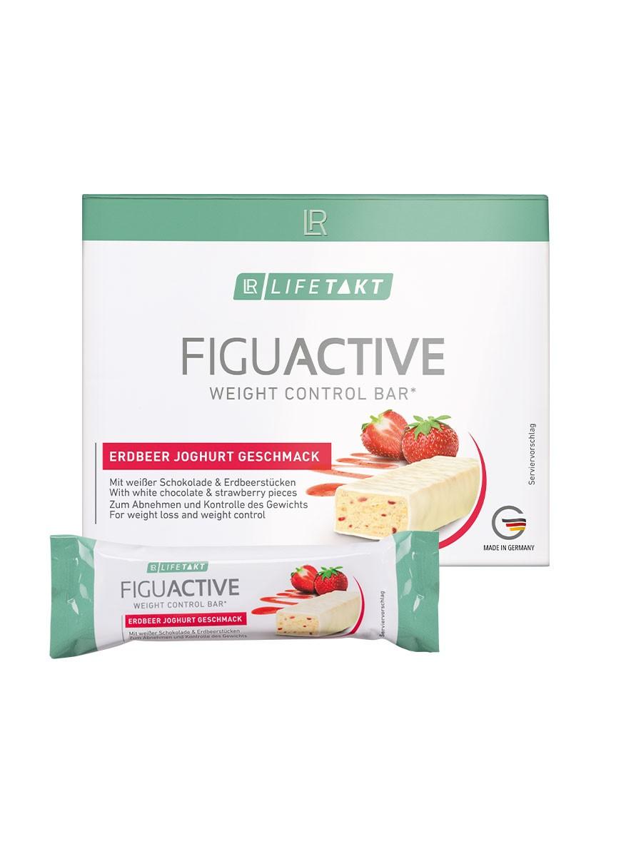 Figu Active Bar - Jordbær-yoghurtsmag, 6er boks