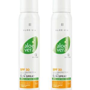 Aloe Vera Sol Spray faktor 30 2-Pak