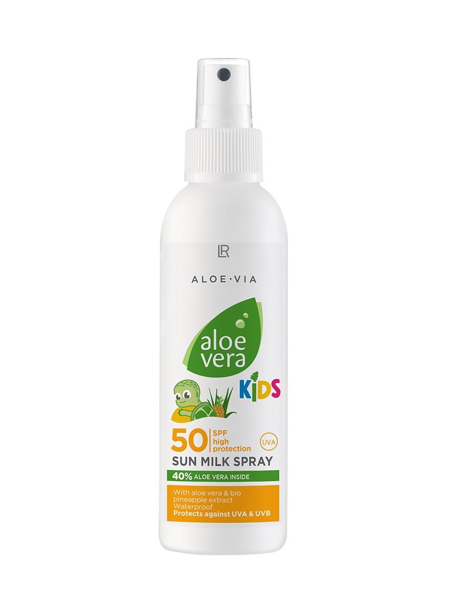 Aloe Vera Børne Solspray Faktor 50